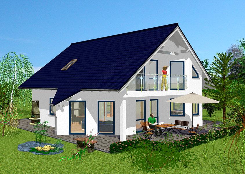 Unsere massivh user haus bauen nach ma gse haus for Klassisches einfamilienhaus