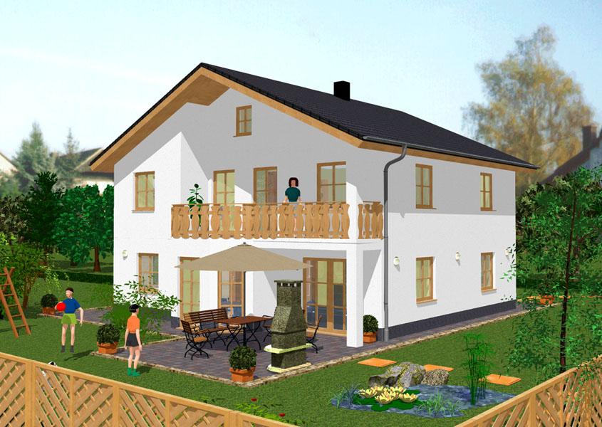 Einfamilienhaus mit einliegerwohnung bauen gse haus for Klassisches haus bauen