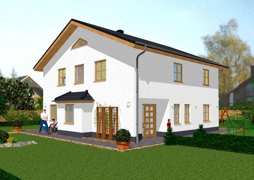 Einfamilienhaus mit einliegerwohnung bauen gse haus for Einfamilienhaus klassisch