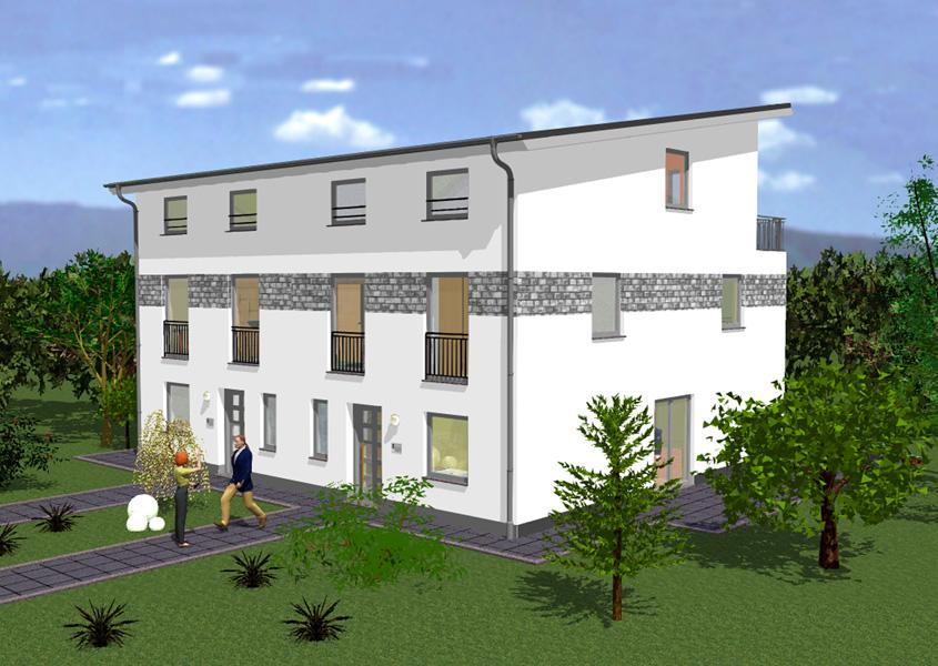Gut gemocht Doppelhäuser mit Pultdach | GSE-HAUS GmbH RK66