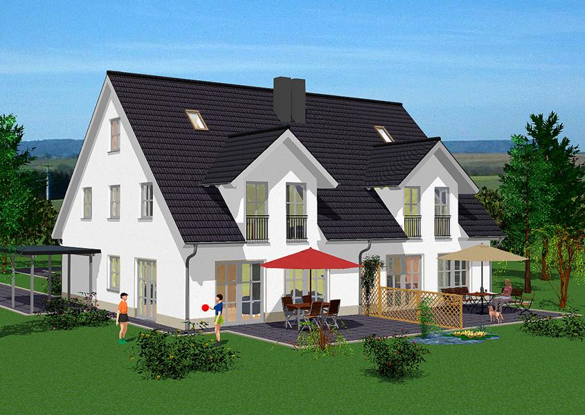 Sch ne h user sch nes haus pictures to pin on pinterest for Wohnbox fertighaus