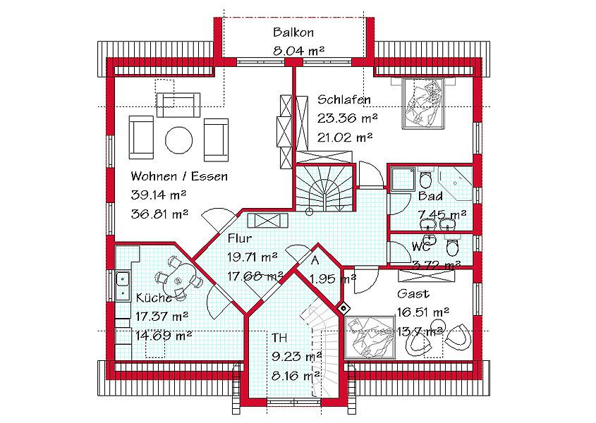 zweifamilienhaus als massivhaus bauen mit gse haus. Black Bedroom Furniture Sets. Home Design Ideas