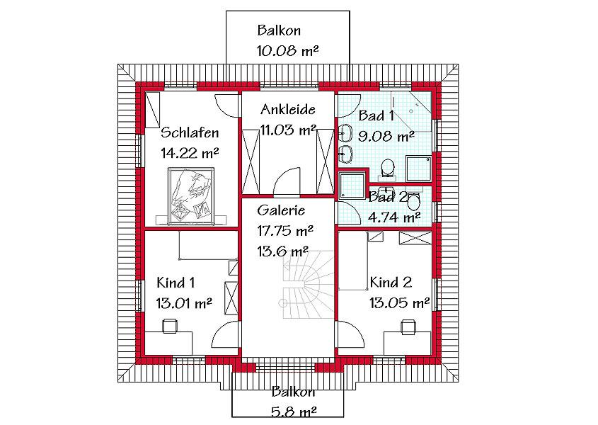 Massivhäuser im mediterranen Stil (MS713)  GSE HAUS GmbH