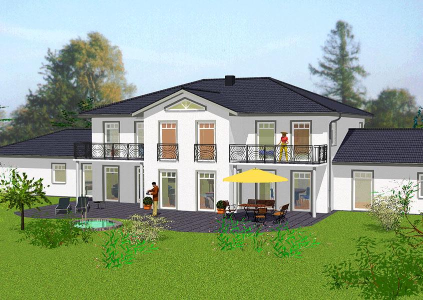 Landhaus in massivbauweise bauen mit gse haus for Haus bauen modelle