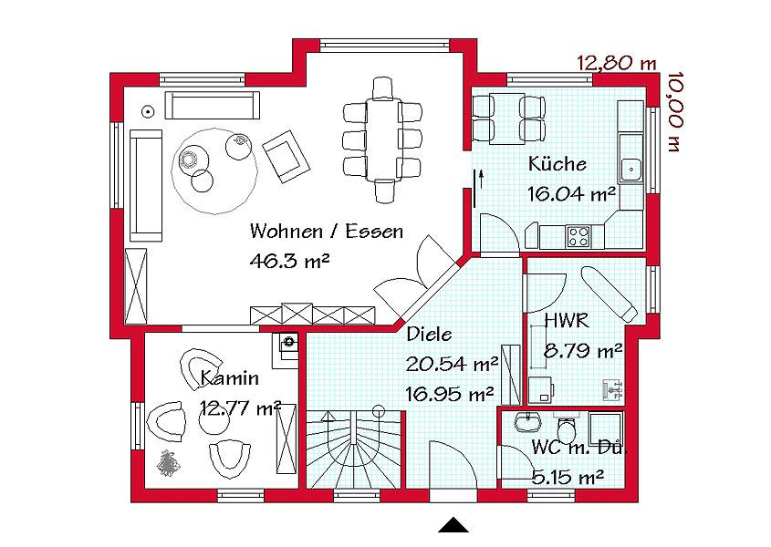 Pultdachh user stilvoll und modern bauen mit gse haus for Pultdachhaus grundriss