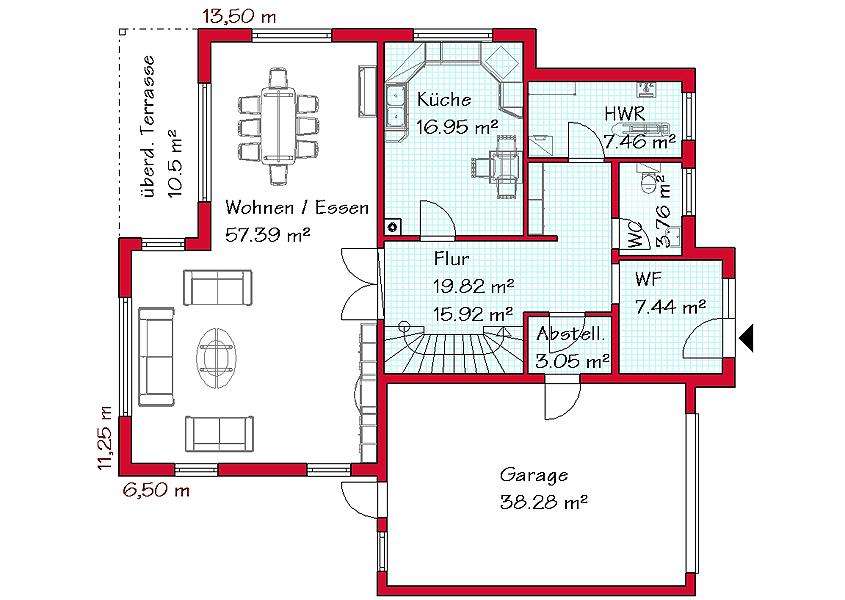 h user im bauhausstil gse haus gmbh gse haus gmbh. Black Bedroom Furniture Sets. Home Design Ideas