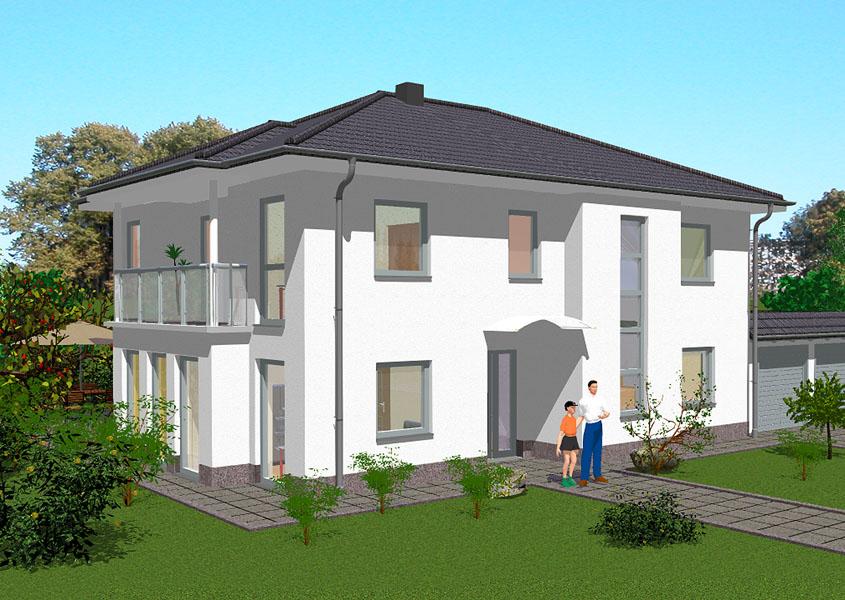 Massivhäuser im mediterranen Stil (MS790)   GSE HAUS GmbH