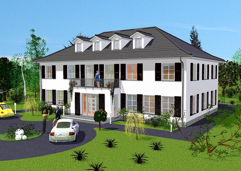 Exklusive Häuser Bauen Im Landhausstil Gse Haus