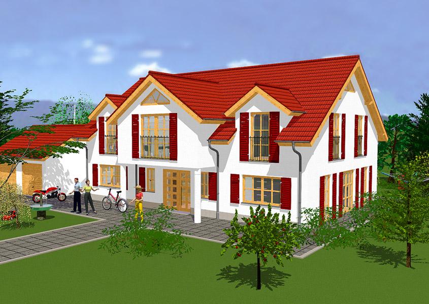 Landhaus mit Dachgauben bauen | GSE HAUS