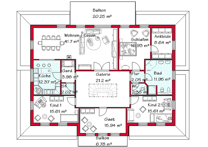Dreifamilienhaus bauen | GSE-Haus GmbH