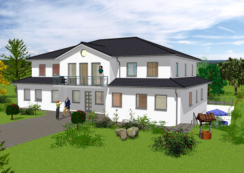 dreifamilienhaus bauen gse haus gmbh. Black Bedroom Furniture Sets. Home Design Ideas