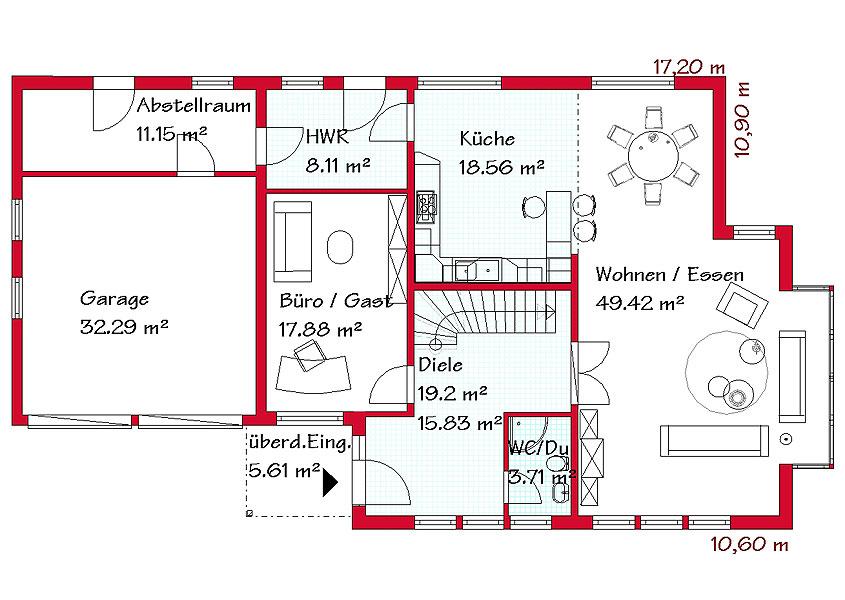 Grundriss einfamilienhaus mit integrierter garage  Besondere Ansprüche brauchen besondere Häuser | GSE HAUS