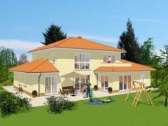 haus mediterran gestalten, mediterrane massivhäuser mit flair bauen, Design ideen