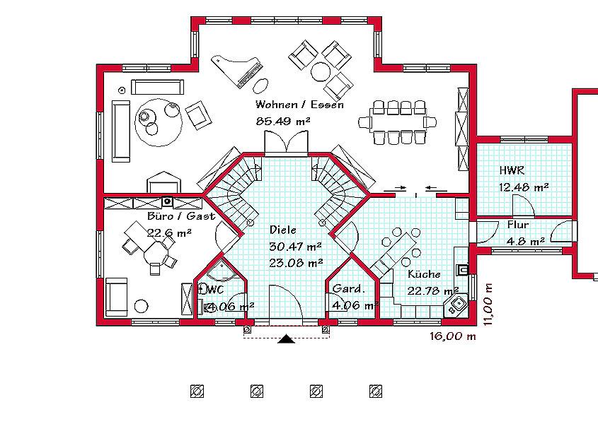Landhäuser bauen (L780) | GSE-Haus | GSE HAUS GmbH