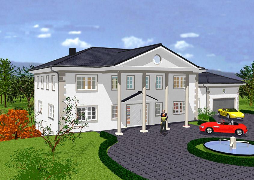 bauen sie ihr exklusives landhaus mit gse haus. Black Bedroom Furniture Sets. Home Design Ideas