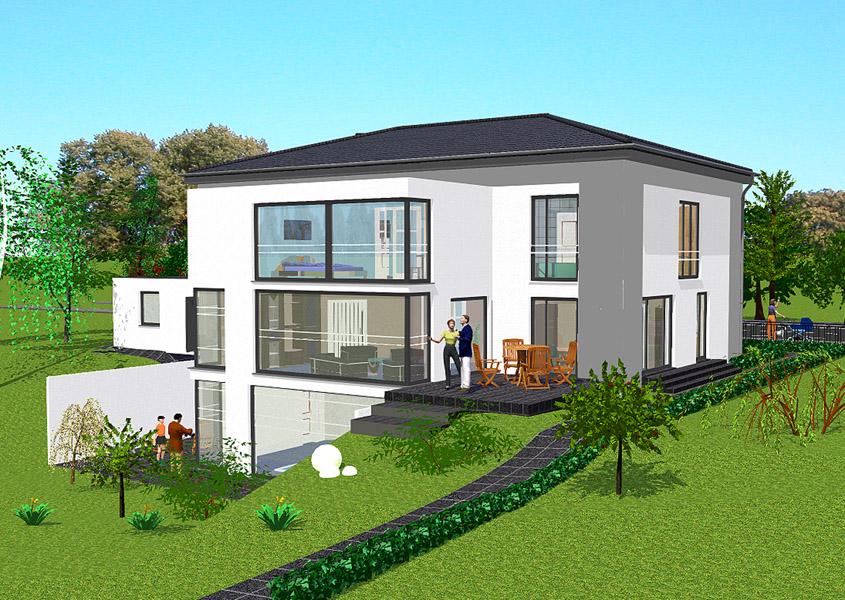 mediterranes luxushaus mit 313 3m gesamtwohnfl che. Black Bedroom Furniture Sets. Home Design Ideas