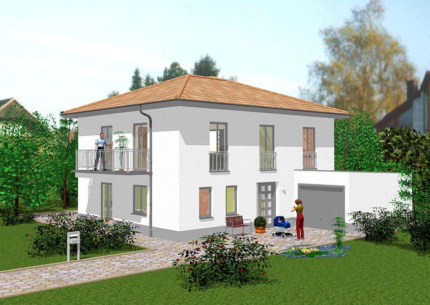 leben wie im s den mit mediterranen massivh usern von gse haus. Black Bedroom Furniture Sets. Home Design Ideas