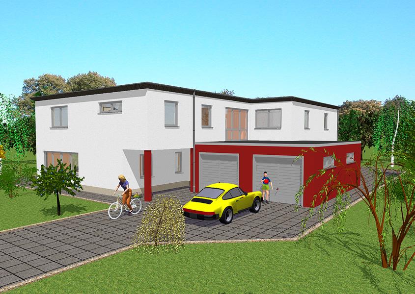 Ihr Haus im Bauhausstil für die Großfamilie | GSE HAUS