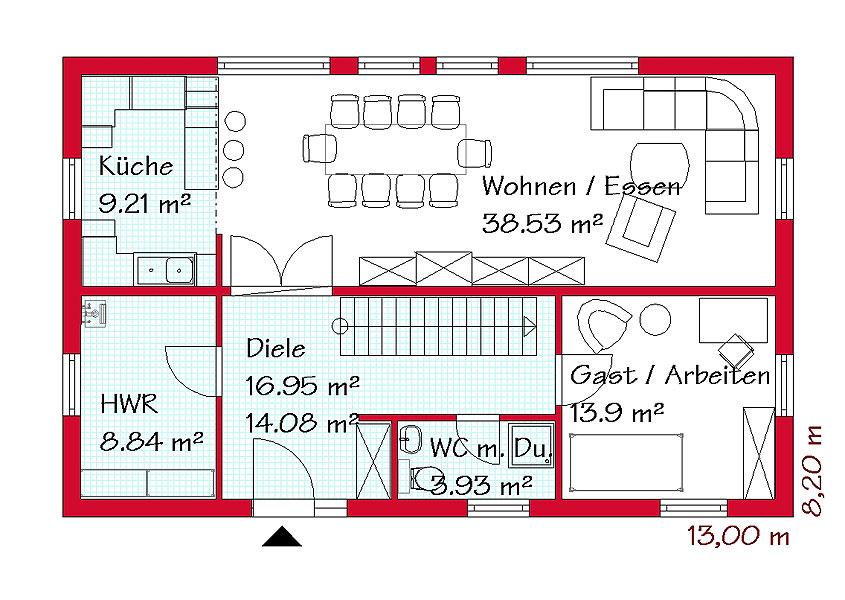 GSE-HAUS | Schlüsselfertiges Einfamilienhaus
