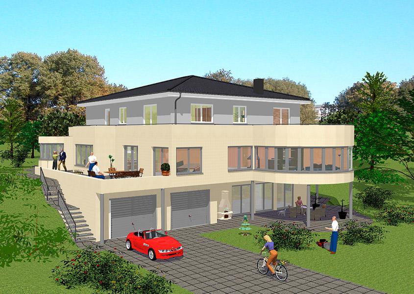 Landhausstil haus for Haus bauen landhausstil