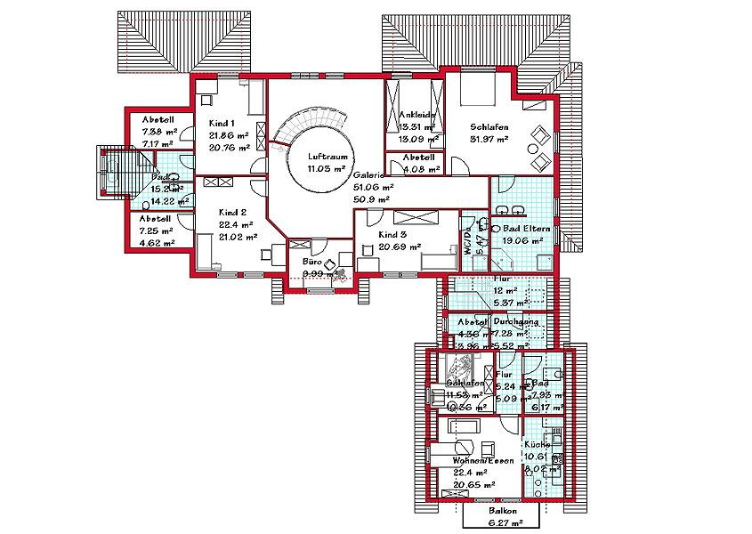 exklusives landhaus mit einer 648 4 m gesamtwohnfl che. Black Bedroom Furniture Sets. Home Design Ideas