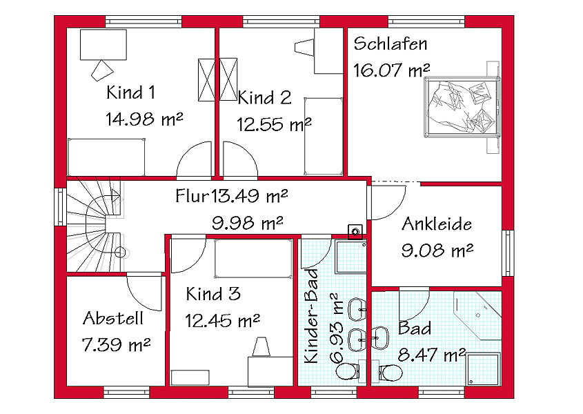 Zweigeschossiges Einfamilienhaus bauen mit GSE HAUS