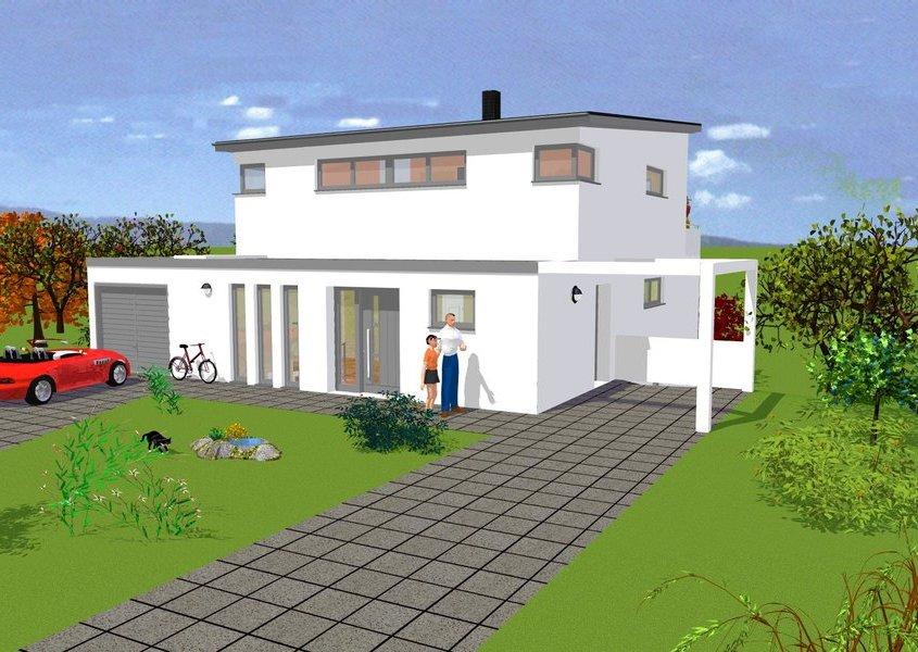 pultdachhaus bauen mit gse haus p270 gse haus gmbh. Black Bedroom Furniture Sets. Home Design Ideas
