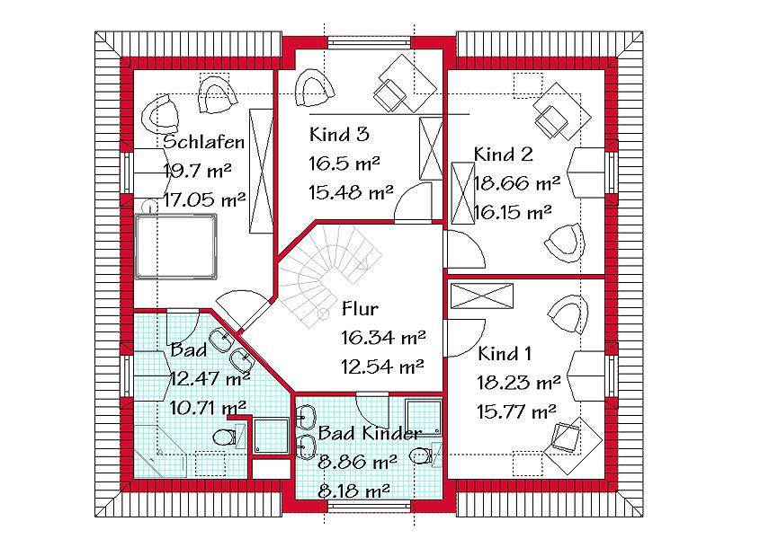 Mansarddachhäuser Schlüsselfertig Bauen