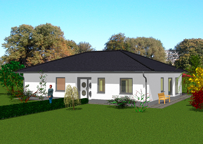 klein aber fein bungalows bis zu 140 m gse haus. Black Bedroom Furniture Sets. Home Design Ideas
