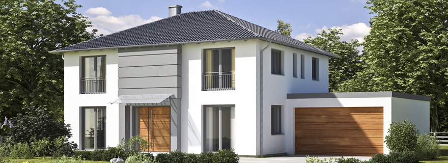 Mediterrane massivh user mit flair bauen for Moderne haus muster